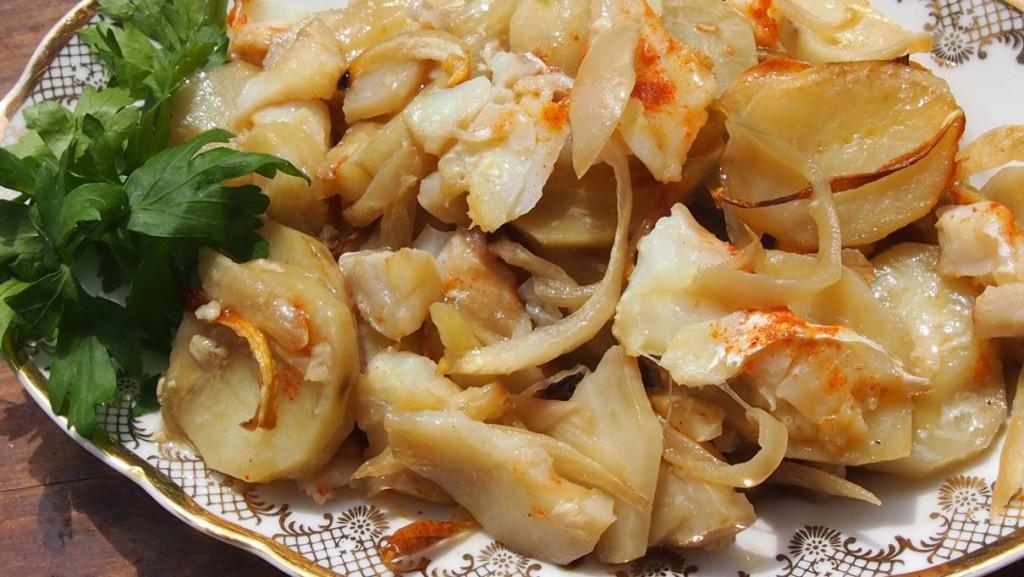 Zapiekanka rybna z ziemniakami